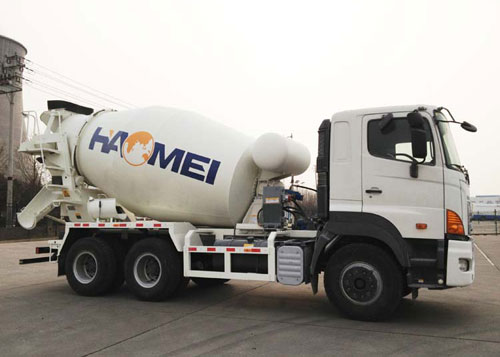 concrete mixer truck export to Mongolia