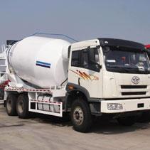 10m3 concrete mixer truck banner