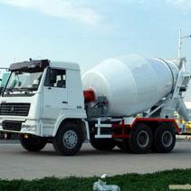 12m3 concrete mixer truck banner
