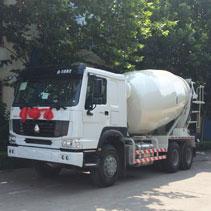 14m3 concrete mixer truck banner