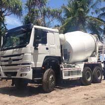 6m3 concrete mixer truck banner