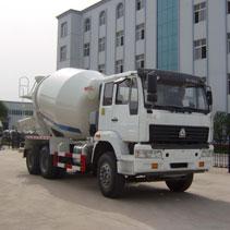 8m3 concrete mixer truck banner