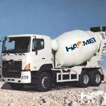 9m3 concrete mixer truck banner