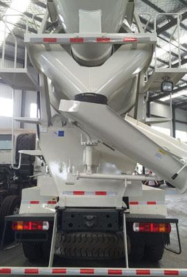 concrete mixer truck detial